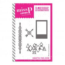 Miss P Loves - Boundless Journal - Geometrics Dies