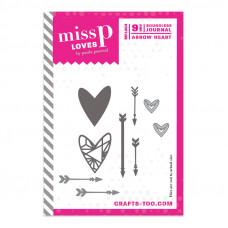 Miss P Loves - Boundless Journal Arrow Heart Dies