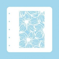 Nellie Snellen Stencil A6 for Magnetic colour set - Flower-2
