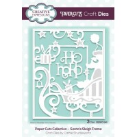 Paper Cuts Collection - Santa's Sleigh Frame