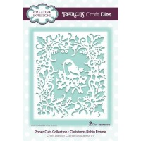 Paper Cuts Collection - Christmas Robin Frame