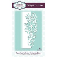 Paper Cuts Collection - Poinsettia Edger