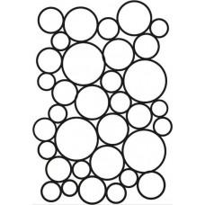 Creative Expressions A5 Stencil Endless Bubbles