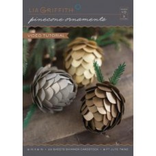 Lia Griffith - Pine Cone Ornaments