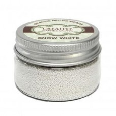 Micro Beads - Snow White Opaque - 30g