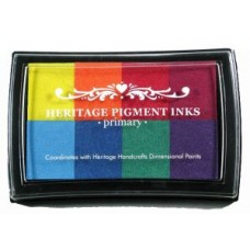 Heritage Pigment Ink Pad - Primary