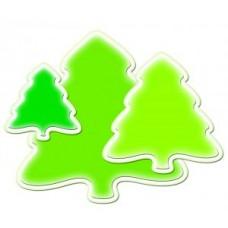 Spellbinder Holiday Tree Die