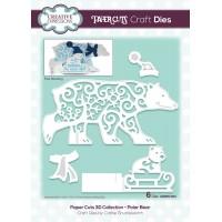 Paper Cuts 3D Collection - Polar Bear