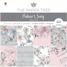 The Paper Tree - Nature's Song 12x12 Paper Pad