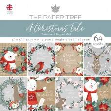 The Paper Tree - A Christmas Tale 5x5 Sentiments Pad