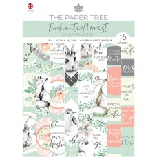 The Paper Tree - Enchanted Forest A4 Die Cut Sheets