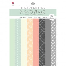 The Paper Tree - Enchanted Forest A4 Essential Colour Card