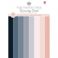 The Paper Tree - Flowering Fields A4 Essential Colour Card