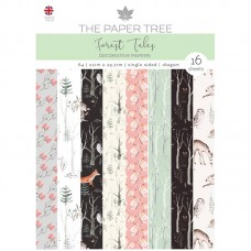 The Paper Tree - Forest Tales A4 Backing Papers