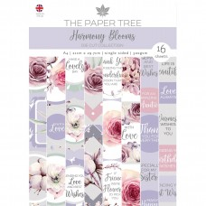 The Paper Tree - Harmony Blooms A4 Die Cut Sheets