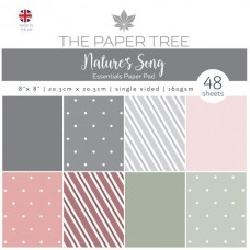 The Paper Tree - Nature's Song 8x8 Essentials Pad