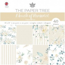The Paper Tree - A Touch of Romance 8x8 Paper Pad