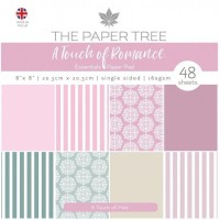 The Paper Tree - A Touch of Romance 8x8 Essentials Pad - A Touch of Pink