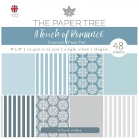 The Paper Tree - A Touch of Romance 8x8 Essentials Pad - A Touch of Blue