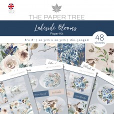 The Paper Tree - Lakeside Blooms - Paper Kit