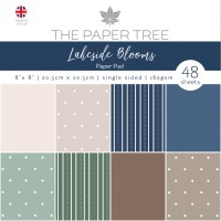 """Lakeside Blooms - 8"""" x 8"""" Essentials Paper Pad"""