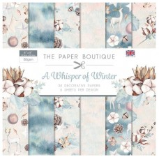 PB A Whisper of Winter 8x8 Paper Pad 150gsm