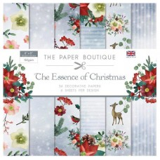 PB Essence of Christmas 8x8 Paper Pad 36 Sheets 6 Designs 150gsm