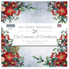 PB Essence Of Christmas Sentiments Pad 5x5 Scene & Topped Pad 150gsm