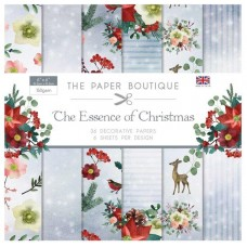 PB Essence of Christmas 6x6 Paper Pad 36 Sheets 6 Designs 150gsm