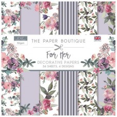 Paper Boutique - For Her 6x6 Paper Pad