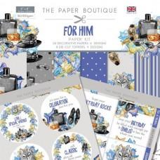 Paper Boutique For Him Paper Kit