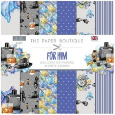 Paper Boutique For Him 12x12 Paper Pad