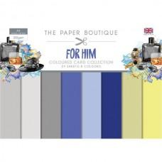 Paper Boutique For Him Colour Card Collection