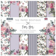 Paper Boutique - For Her 12x12 Paper Pad