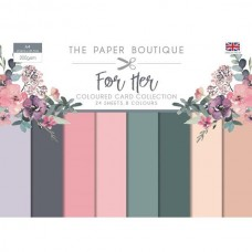 Paper Boutique - For Her Colour Card Collection