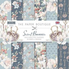 Paper Boutique Secret Romance 8x8 Paper Pad