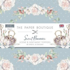 Paper Boutique Secret Romance 5x5 Sentiments Pad