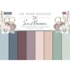 Paper Boutique Secret Romance Colour Card Collection