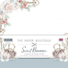 Paper Boutique Secret Romance 8x8 Card & Envelope Pack