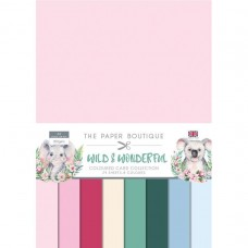 The Paper Boutique - Wild & Wonderful Colour Card Collection