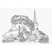 Picture This Stamps - Church - Vicarage