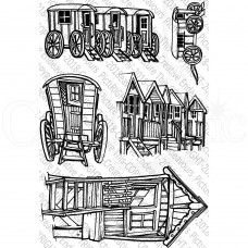 Picture This Stamps - Little Beach Huts