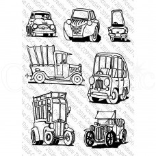 Picture This Stamps - Little Vehicles