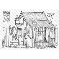 Picture This Stamps - Potting Shed