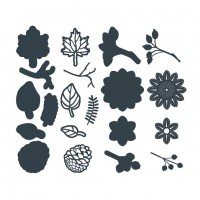 The Paper Boutique - Autumn Wreath Embellishments
