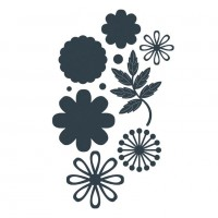 The Paper Boutique Posy Embellishments - DISPATCHING WEDNESDAY 24th APRIL
