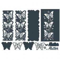 The Paper Boutique Border Die - Flutter