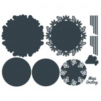 The Paper Boutique - Keep Smiling Beyond Doily Dies