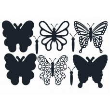 The Paper Boutique Butterfly Trio Cutting Dies Collection