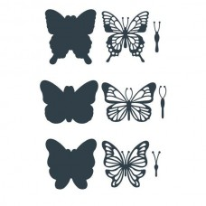The Paper Boutique Butterfly Embellishments